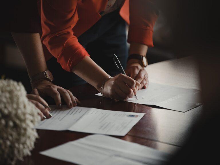 Pisemna rejestracja spółki w formie umowy