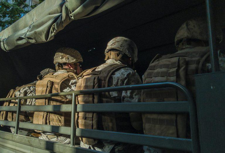 odprawa w wojsku